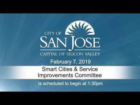 FEB 7, 2019 | Smart Cities & Service Improvements Committee