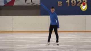 ОЧ Аделина Сотникова / Adelina Sotnikova (2014 Olympic champion). ЛТК ЦСКА.25.01.2015 г.