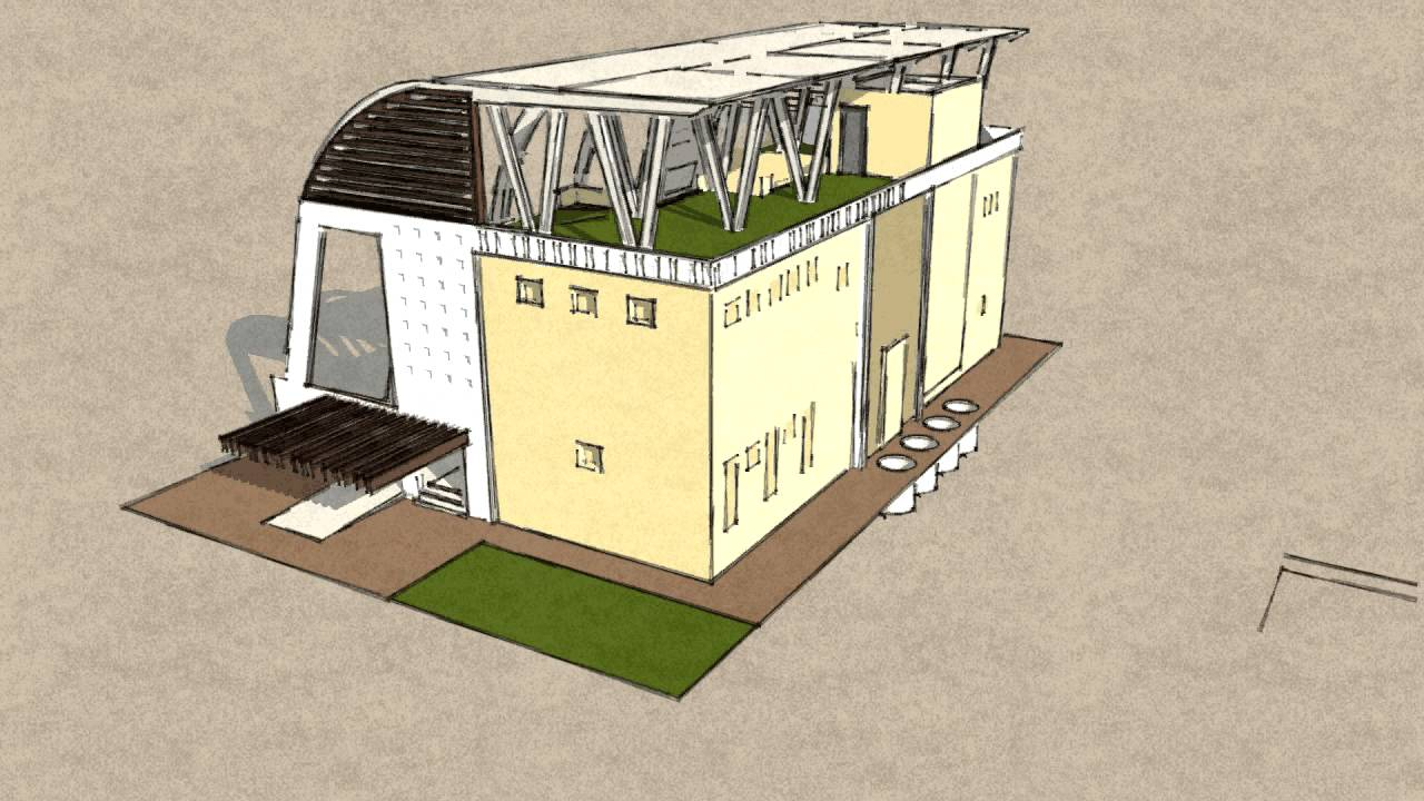 Eco House Animation YouTube
