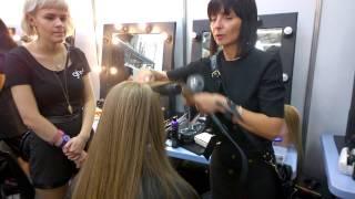 MBFWA 2014: Toni Maticevski backstage with Jayne Wild