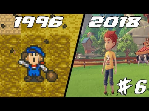 Evolution Of Harvest Moon 1996 - 2018