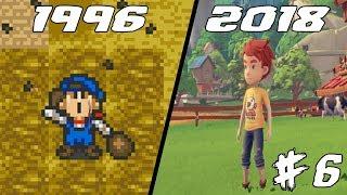 Evolution of Harvest Moon 1996 - 2018