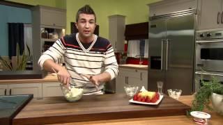 Kebabs De Fruits Avec Trempette Margarita Aux Fraises