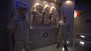 FIRST LOOK Entrance to NEST Headquarters - TRANSFORMERS: The Ride - 3D