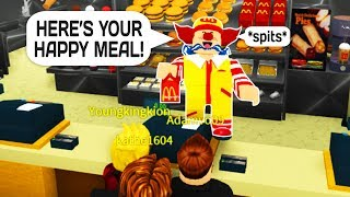 TROLLING MCDONALDS IN ROBLOX!