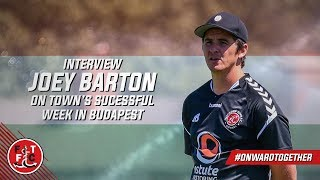 Joey Barton on successful week in Budapest | Interview