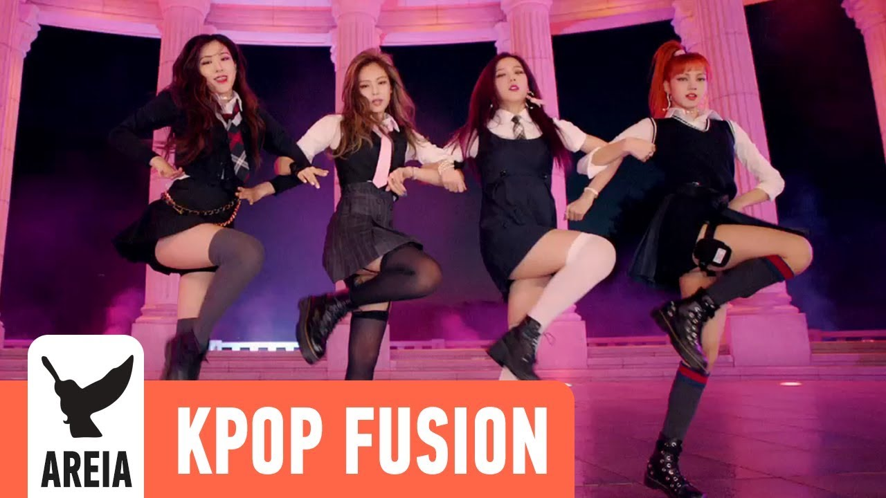 BLACKPINK - AS IF IT'S YOUR LAST (마지막처럼) | Areia Kpop Fusion #17 REMIX