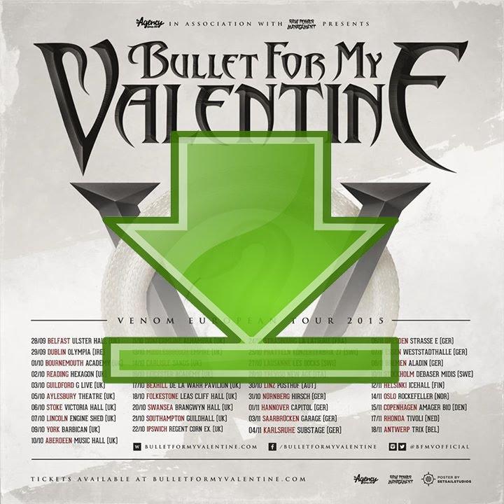 Bullet for my valentine temper temper (deluxe edition) (2013.