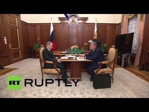Russia: Rosneft to ramp up investment program, CEO Sechin tells Putin