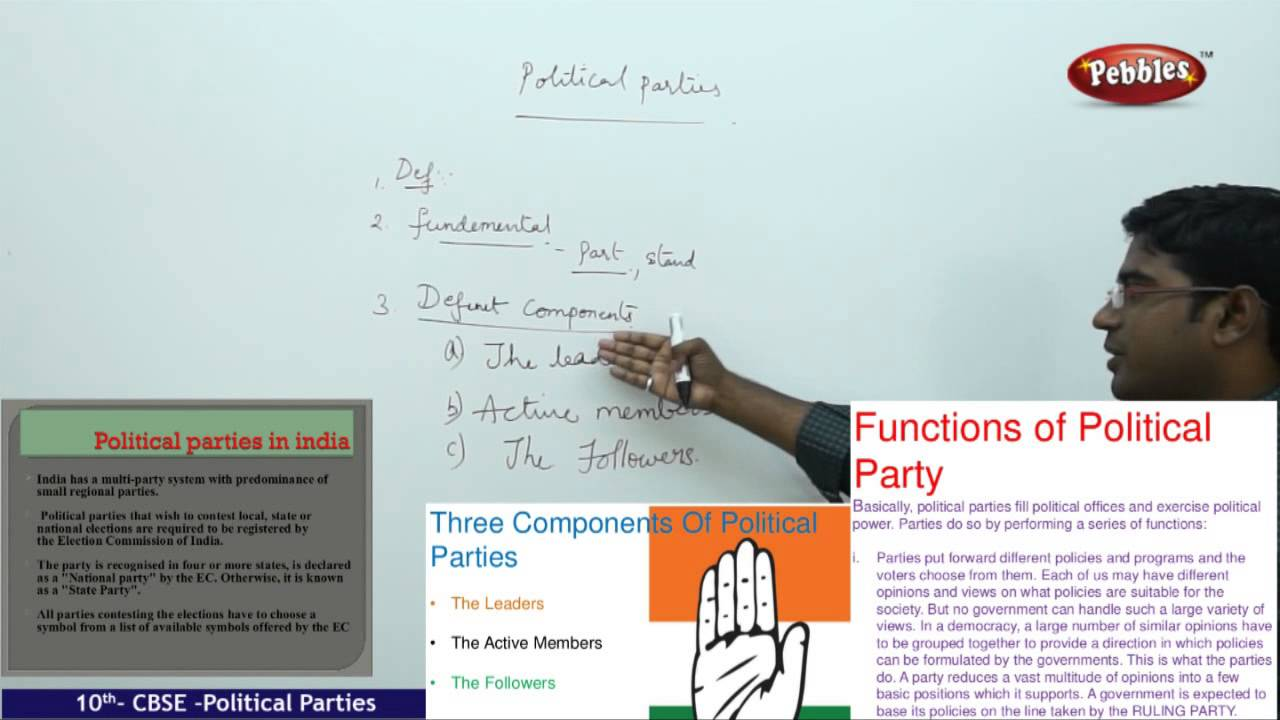 worksheet Political Parties Worksheet political parties class 10th cbse social studies syllabus live videos youtube