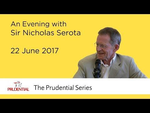 An Evening with Sir Nicholas Serota