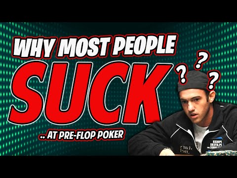 How to Play Preflop Poker Properly in No Limit Holdem