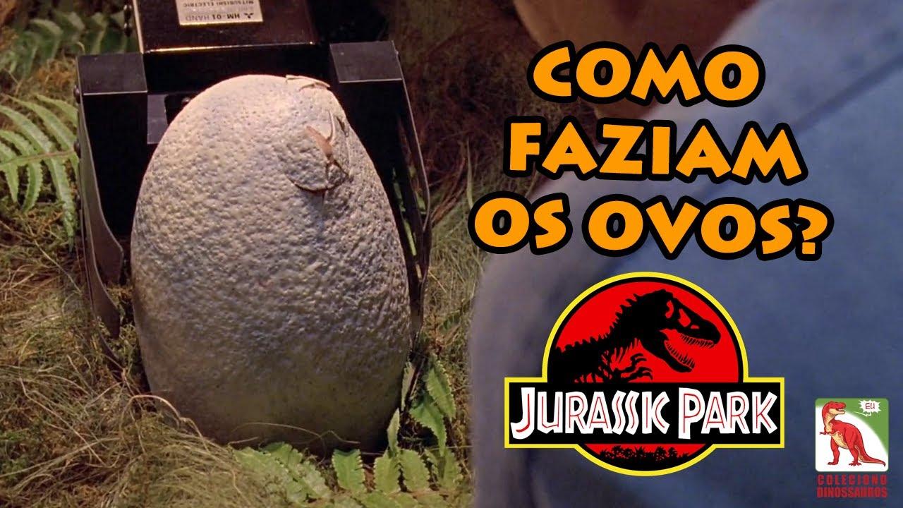 Como os cientistas fizeram os Ovos de dinossauro do Jurassic Park?