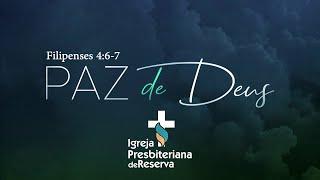 Paz de Deus | Culto ao Vivo - 10/01/2021