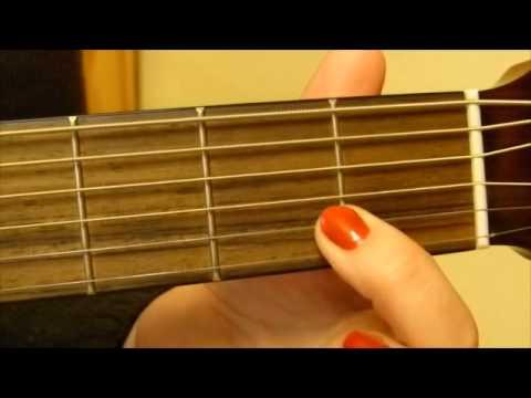 Die ersten 5 Akkorde auf Gitarre - Anfänger tutorial - einfach erklärt (C,G,F,E,A-Dur)