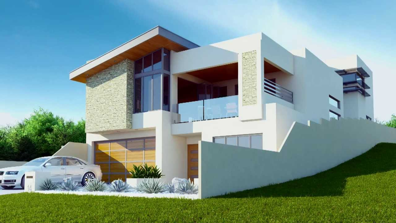 3d animated property fly through by bevin design house youtube - 3d Design For House