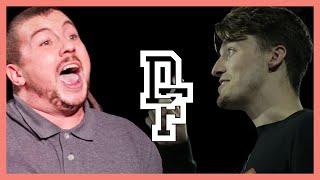 THE CALCIUM KID VS OSHEA | Don't Flop Rap Battle