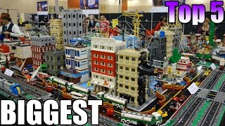 Top 5 Lego Cities Ever Made 2017 You