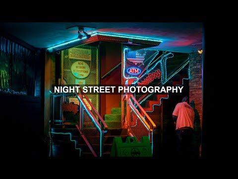 Fujifilm X-Pro3 Night Street Photography (behind the scenes)