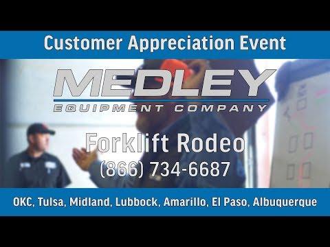 Tulsa Forklift Rodeo   Customer Appreciation
