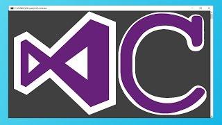 2017 Visual Studio kullanarak C programları oluşturma