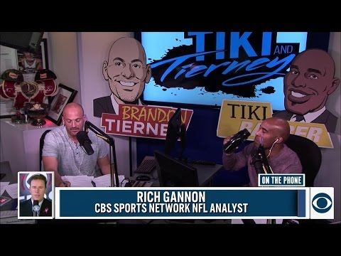 Rich Gannon joined Tiki And Tierney