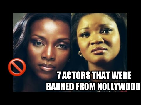 Download 7 ACTORS THAT WERE BANNED FROM NOLLYWOOD I NIGERIAN CELEBRITY NEWS I NIGERIAN MOVIE INDUSTRY