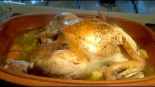 Agréable poulet entier en cocotte - Recette #39