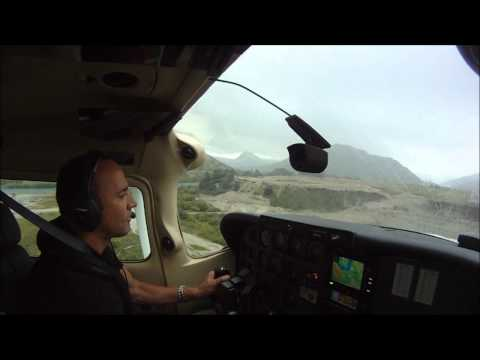High speed approach into Queenstown Airport