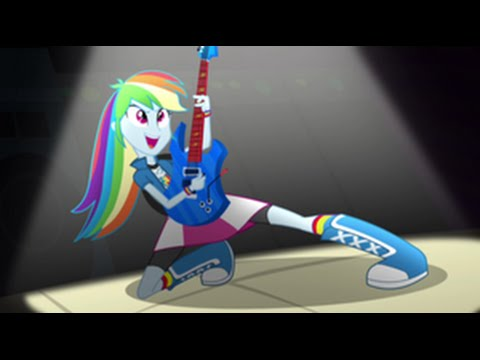 Romanian Equestria Girls Rainbow Rocks Awesome As I Wanna Be Hd