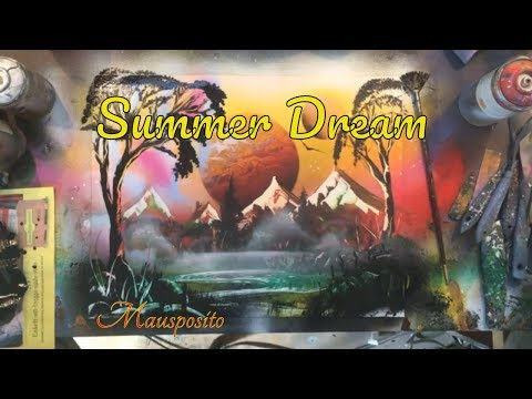 Summer Dream – SPRAY PAINT ART by Mausposito