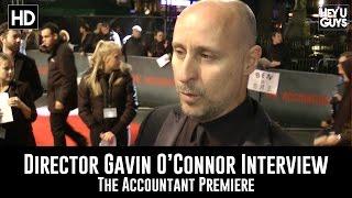 Director Gavin O'Connor Premiere Interview - The Accountant