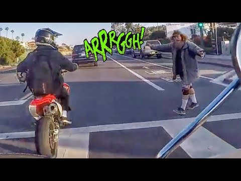 Stupid, Crazy & Angry People Vs Bikers 2018 [Ep.#558] ROAD RAGE thumbnail