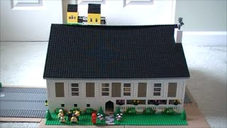Custom Build- Lego Six Bedroom Four And A Half Bathroom House