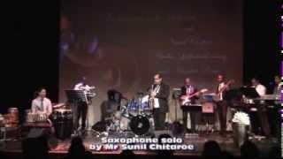 Chaudhvin ka Chand Sax Solo by Sunil Chitaroe & MU