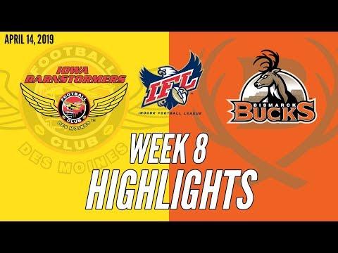 Week 8 Highlights: Iowa at Bismarck