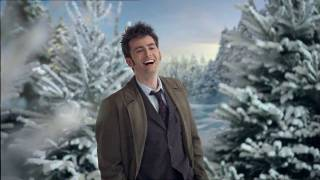 The bbc's 2009 christmas ident featuring david tennant as doctor!