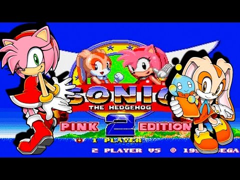 Fangames: Jugando a Sonic the Hedgehog 2: Pink Edition (Amy y Cream Hack)