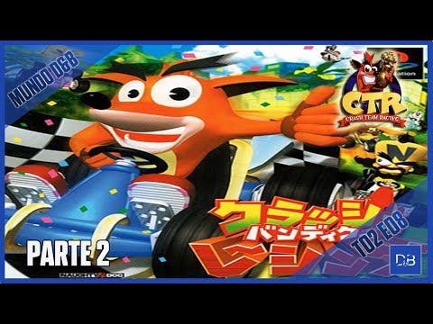 🔴 MUNDO D&B | Crash Bandicoot Racing (CTR-JP) #8 | Canal D&B