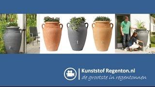 Regenton Amhore Antiek Garantia | Kunststof regenton.nl
