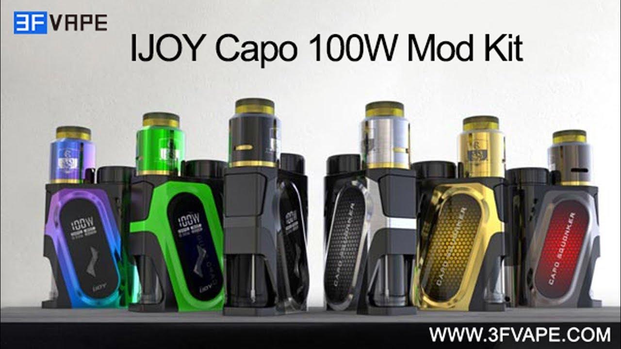 IJOY Capo 100W Squonk Mod Kit