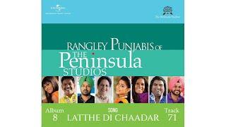 LattheDiChaadar by Dolly Guleria  RangleyPunjabis of ThePeninsulaStudios