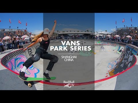 The skate gets real in Shanghai: LIVE Vans Skate Park Series