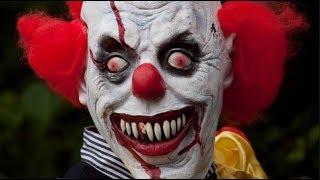 Нападения клоунов на людей (Реальные видео!)