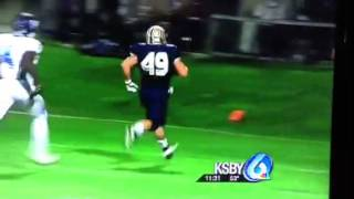 Andrew Da Rosa Mission Prep 49 yard run CIF 11-23-12