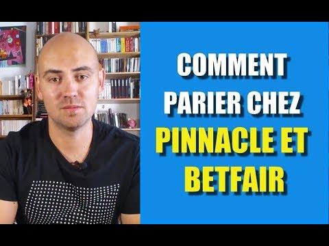Comment parier chez Pinnacle et Betfair ?