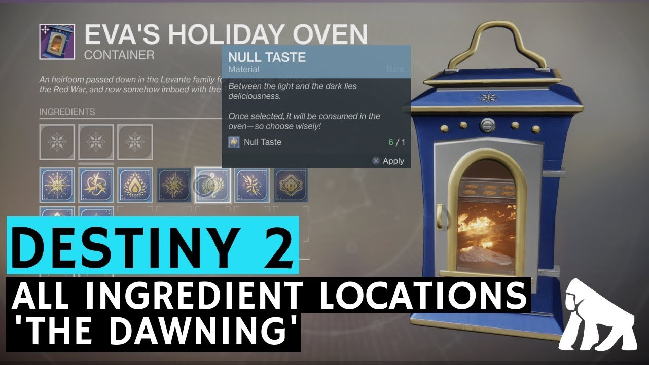All Ingredients & Materials Locations for 'The Dawning ...