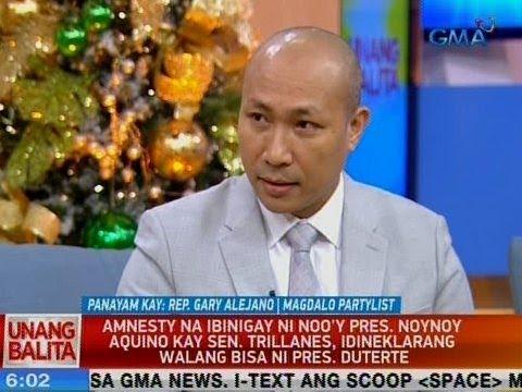 UB: Panayam kay Magdalo Partylist Rep. Gary Alejano