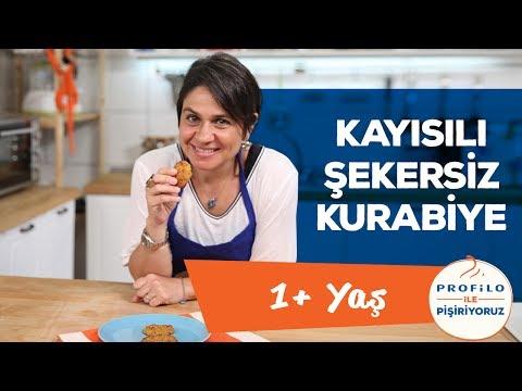 Kayısılı Kurabiye - Şekersiz (1 Yaş + Tüm Aile İçin)   İki Anne Bir Mutfak