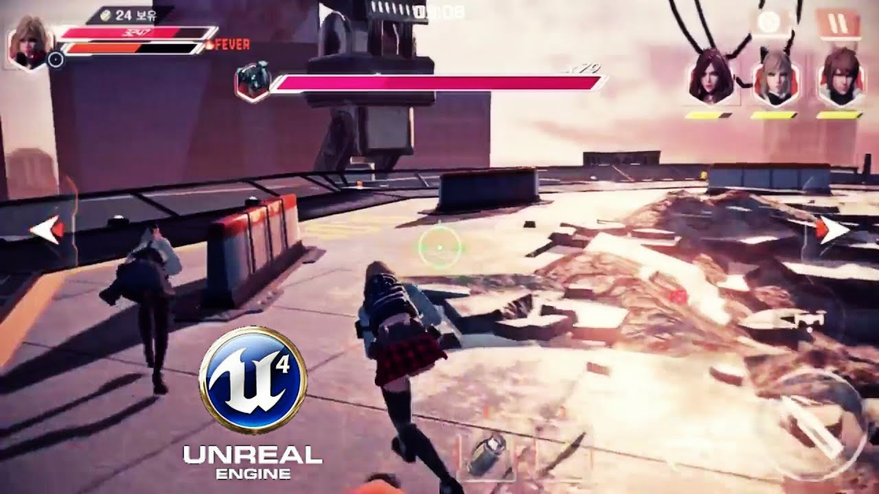 Top 13 Best Unreal Engine 4 Games For Android & iOS
